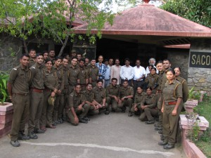 Orientation training program for forest officers
